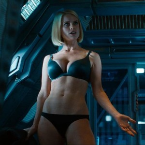 A hot chick in her underwear? In a movie? Unheard of! SJW bloggers were right to pretend this was an outrage.